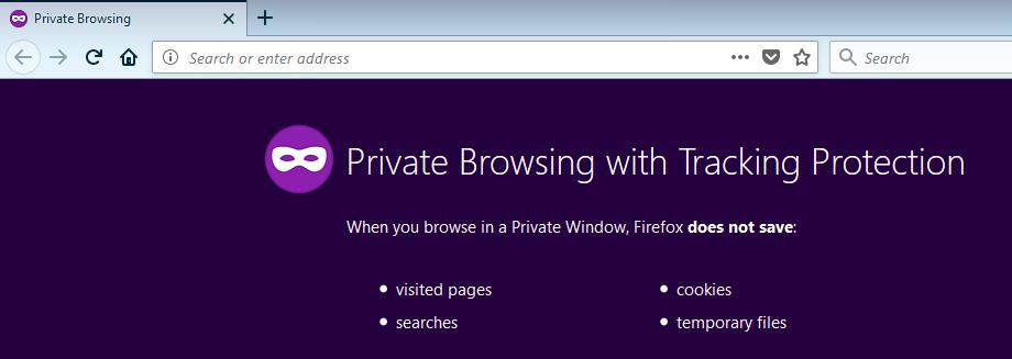 Private Window, + new tab loads SD / EverHelper / Nimbus Web Inc
