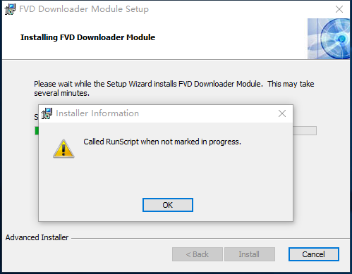 FVD Downloader Module ended prematurely / FireFox Extensions